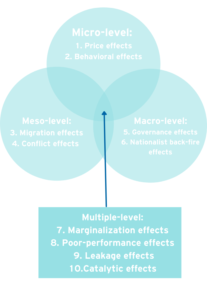10 possible side effects of international cooperation